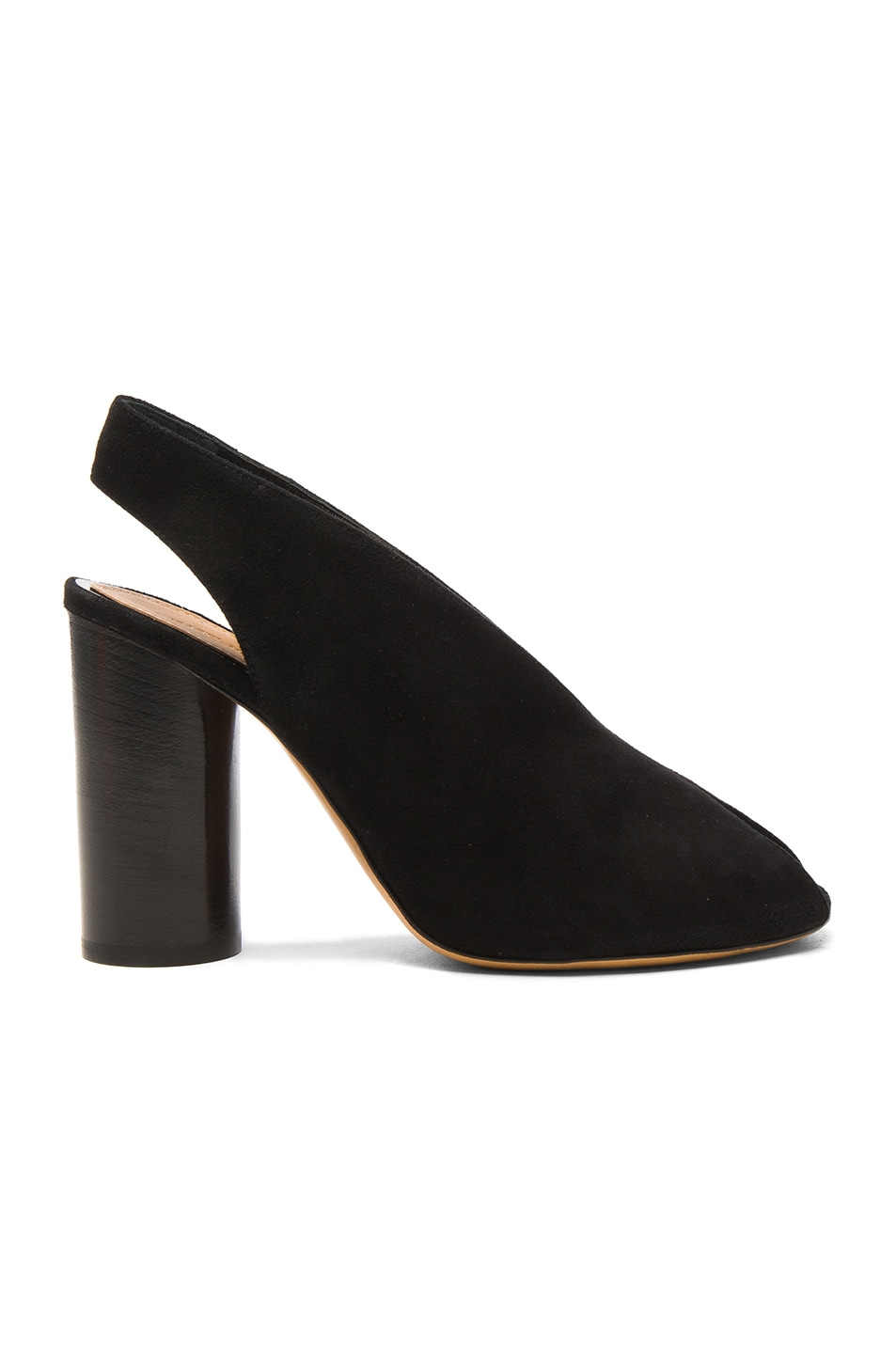 Image 1 of Isabel Marant Suede Meirid Heels in Black