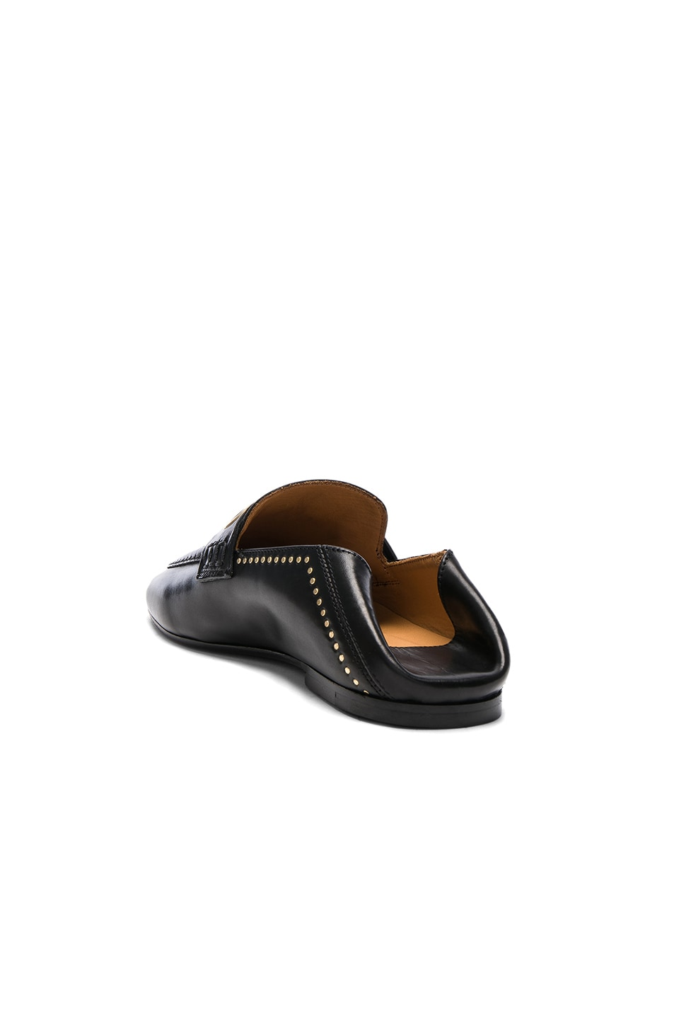 Image 3 of Isabel Marant Leather Fosten Loafers in Black