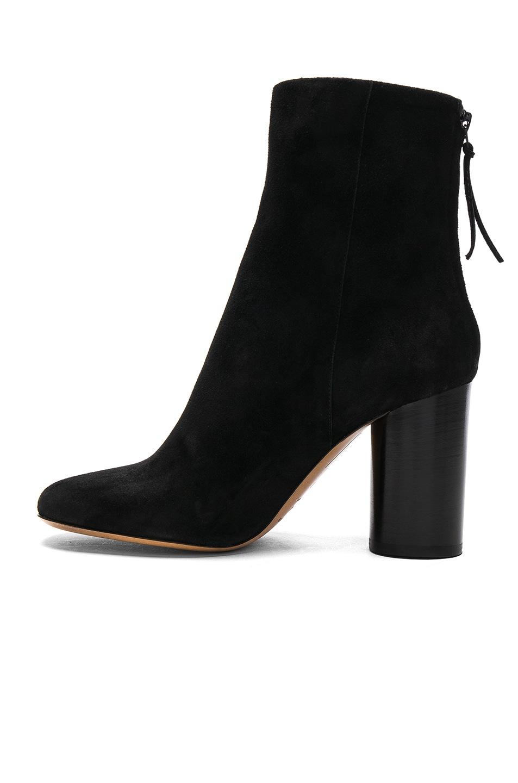 Isabel Marant Garett Velvet Boots in . ekd2eFjlkD