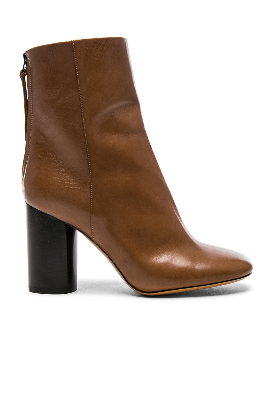 Image 1 of Isabel Marant Leather Garett Boots in Beige