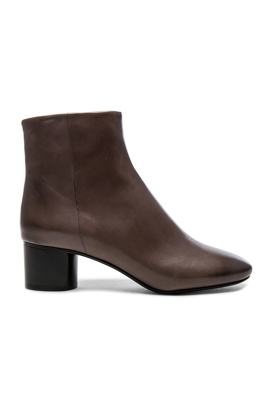 Image 1 of Isabel Marant Leather Danay Boots in Taupe