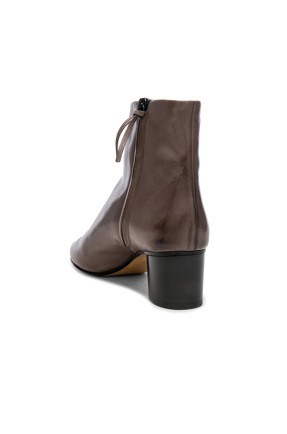 Image 3 of Isabel Marant Leather Danay Boots in Taupe