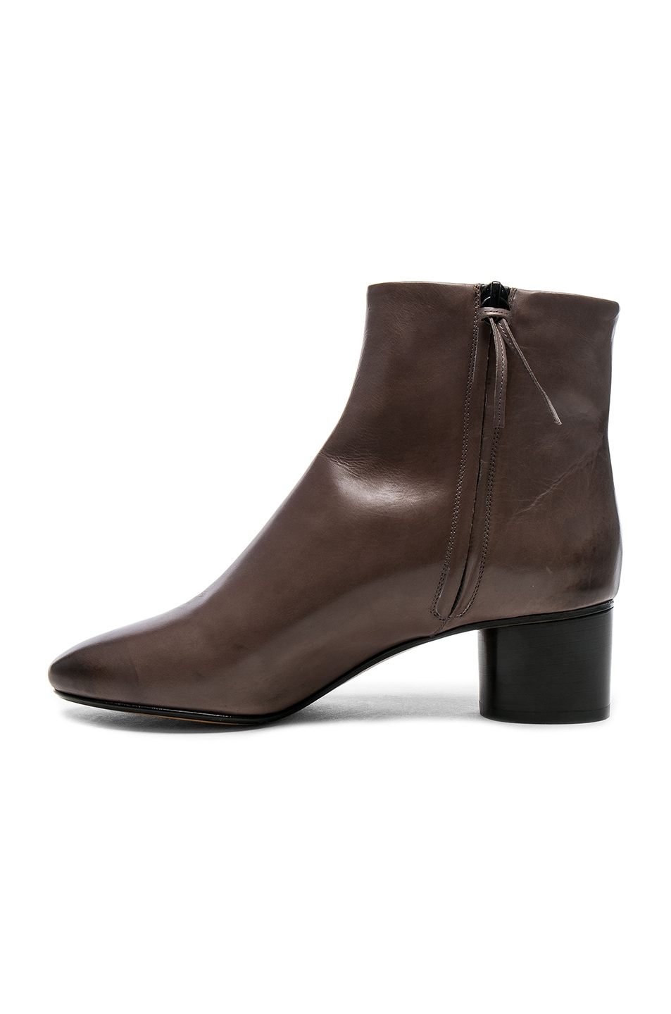Image 5 of Isabel Marant Leather Danay Boots in Taupe
