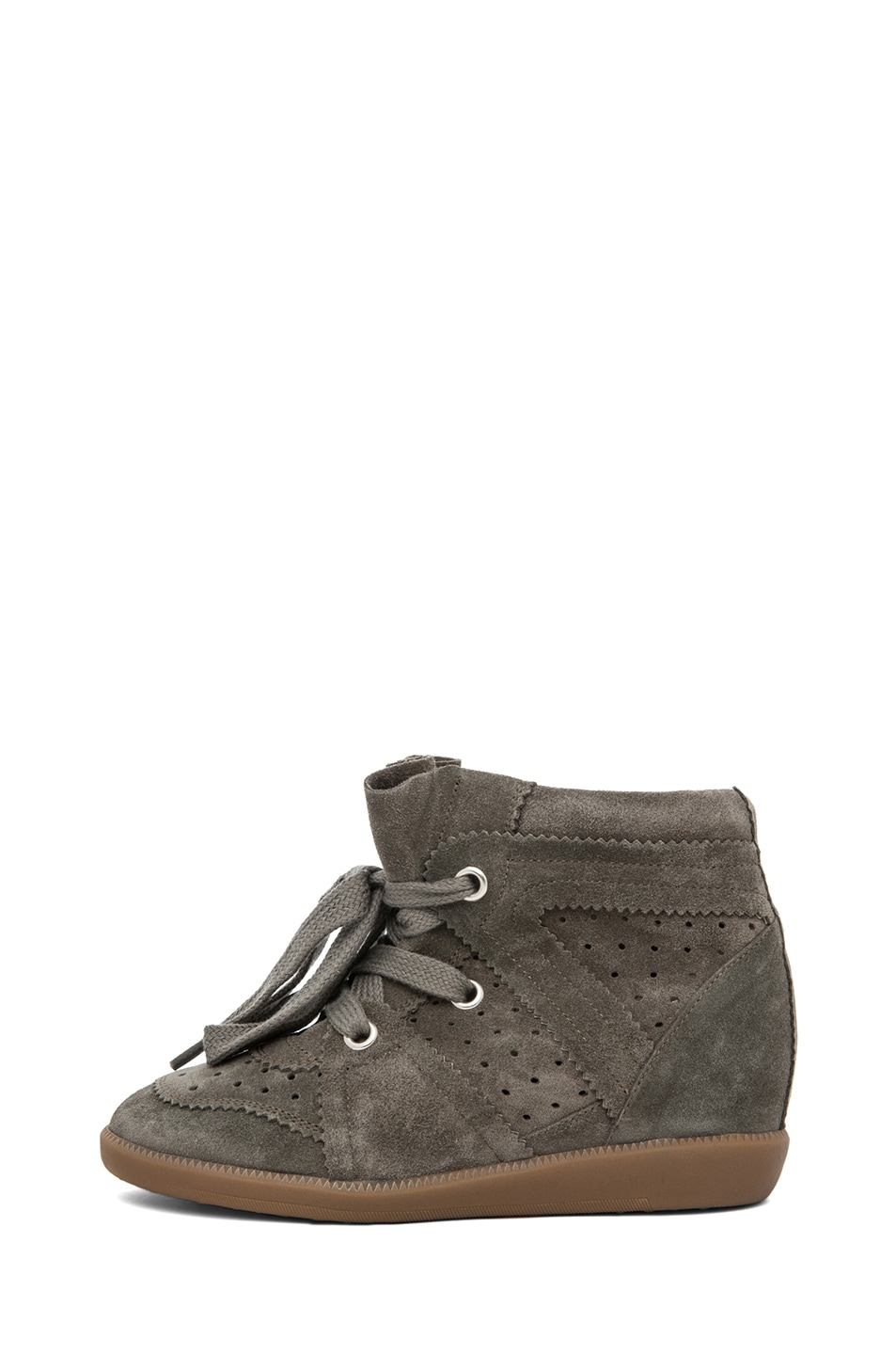Image 1 of Isabel Marant Bobby Sneaker in Gris