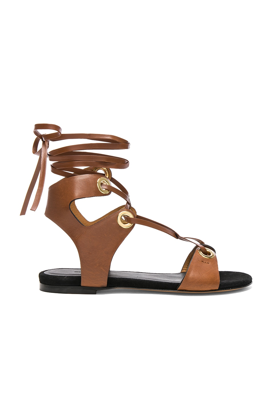 Jaysta lace-up leather sandals