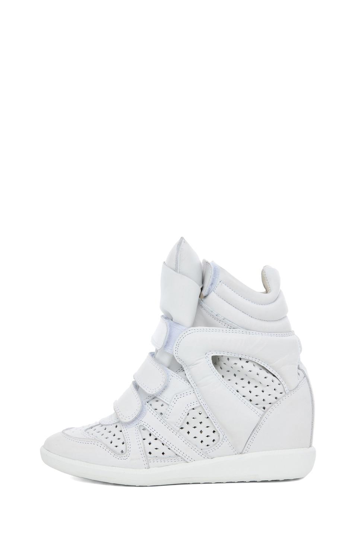 Image 1 of Isabel Marant Brian Sneaker in Craie