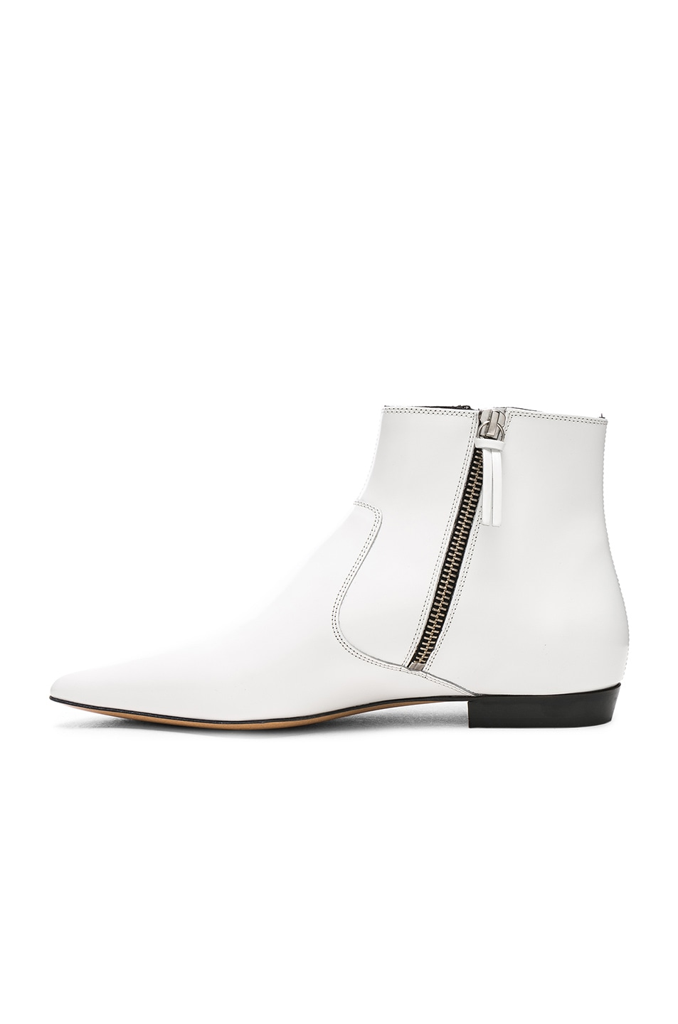 Isabel Marant White Dawie Boots H3fE5uvj