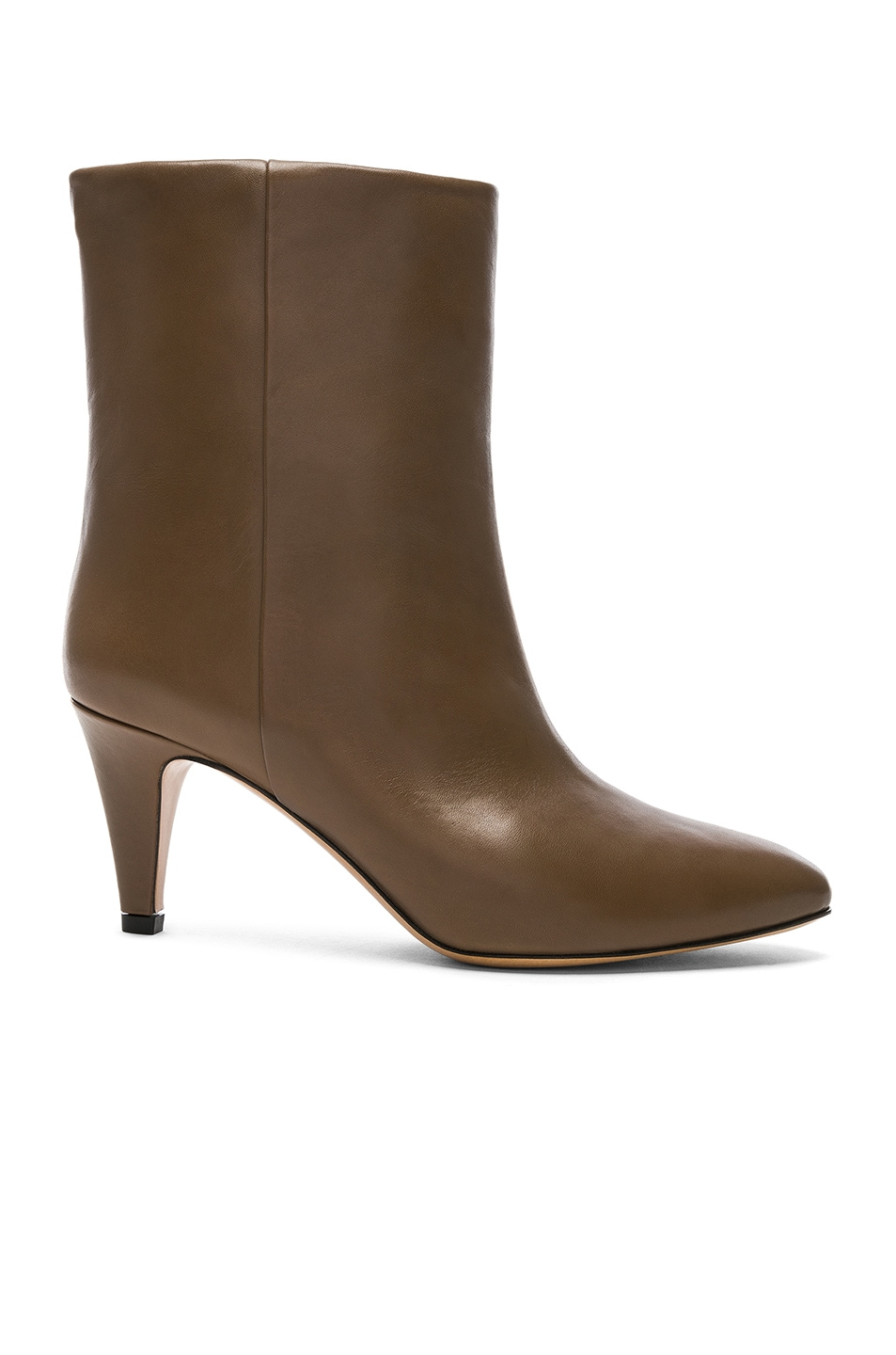 Image 1 of Isabel Marant Leather Dailan Boots in Brown