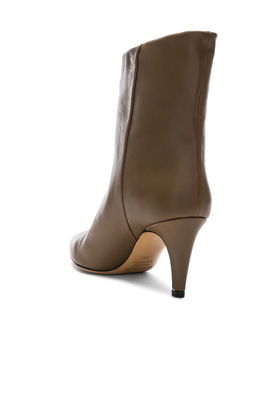 Image 3 of Isabel Marant Leather Dailan Boots in Brown