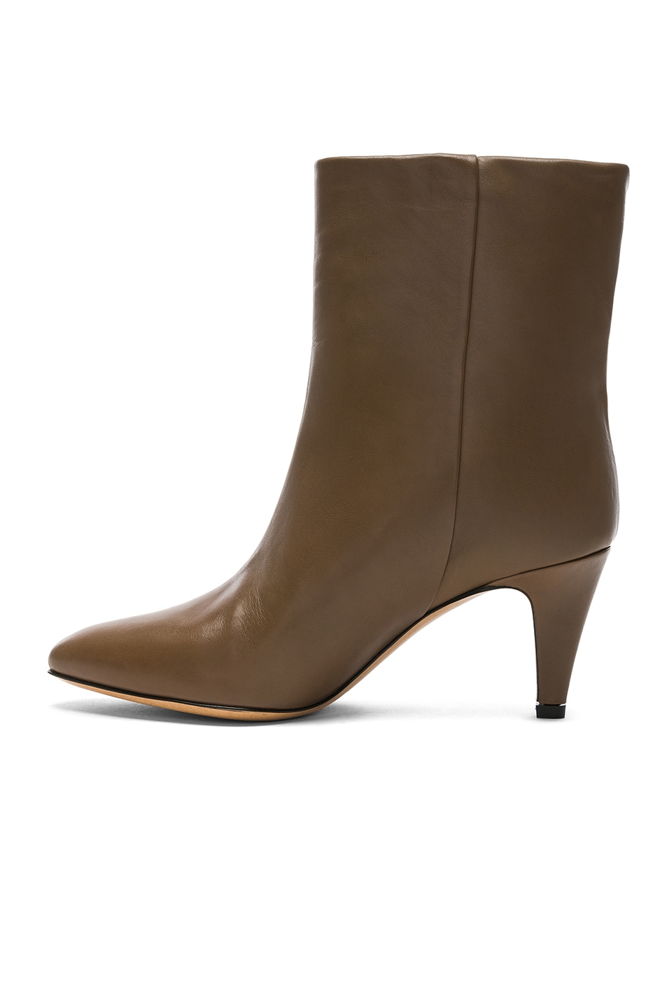 Image 5 of Isabel Marant Leather Dailan Boots in Brown