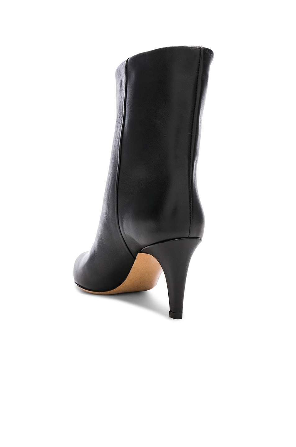 Image 3 of Isabel Marant Leather Dailan Boots in Black