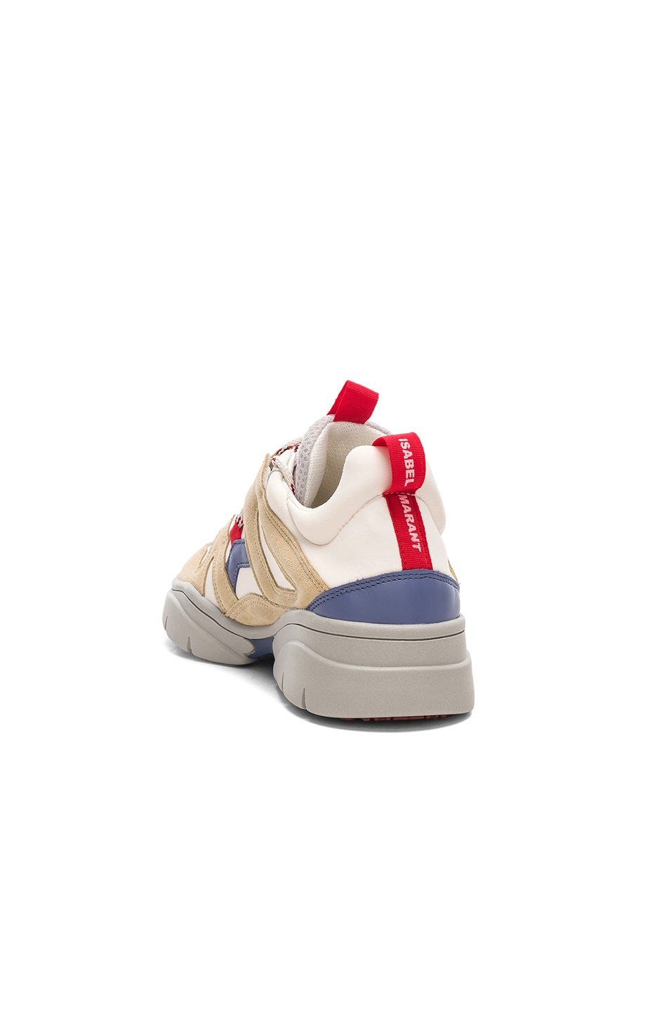 Image 3 of Isabel Marant Kindsay Sneakers in Light Beige