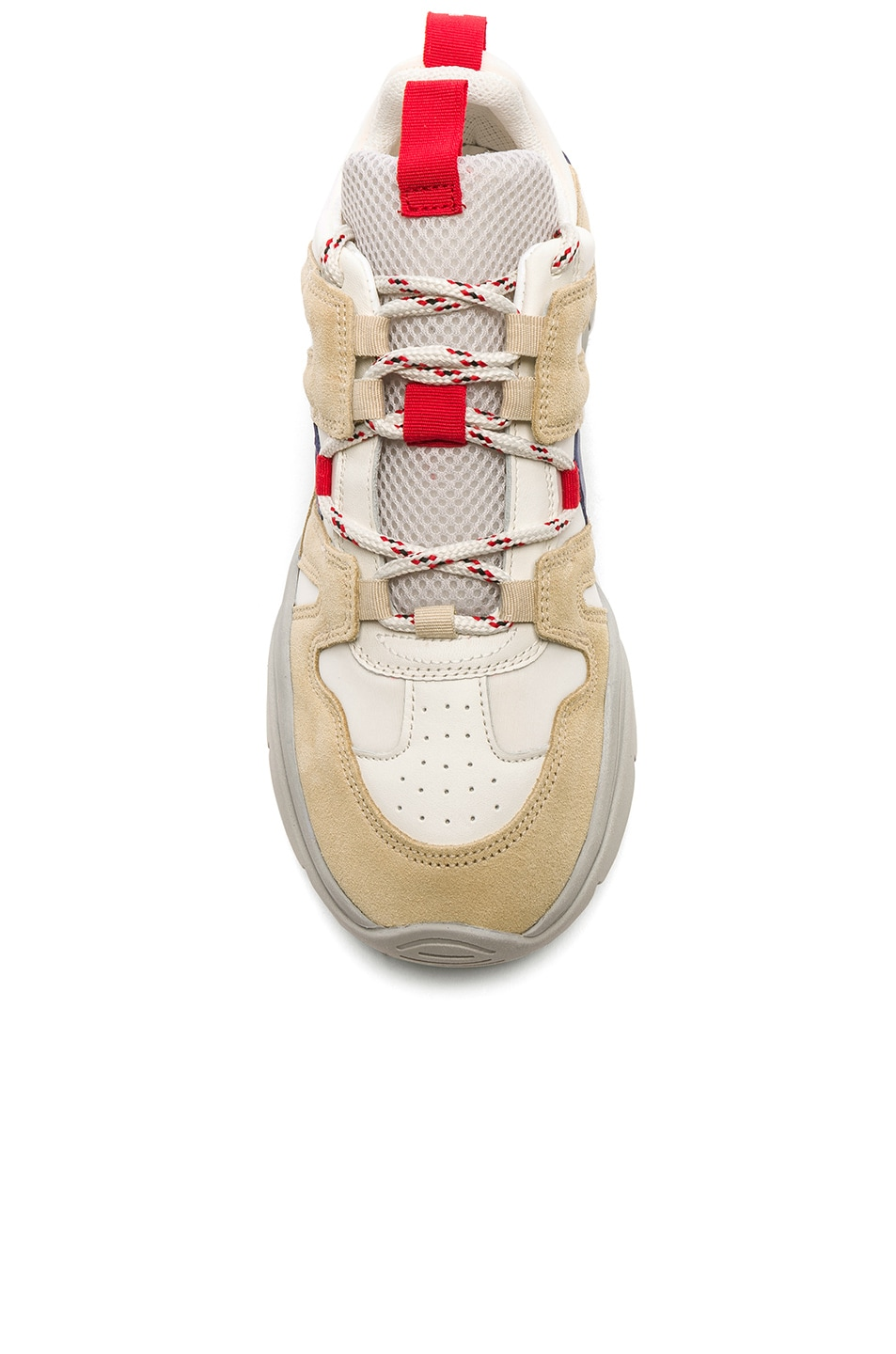 Image 4 of Isabel Marant Kindsay Sneakers in Light Beige