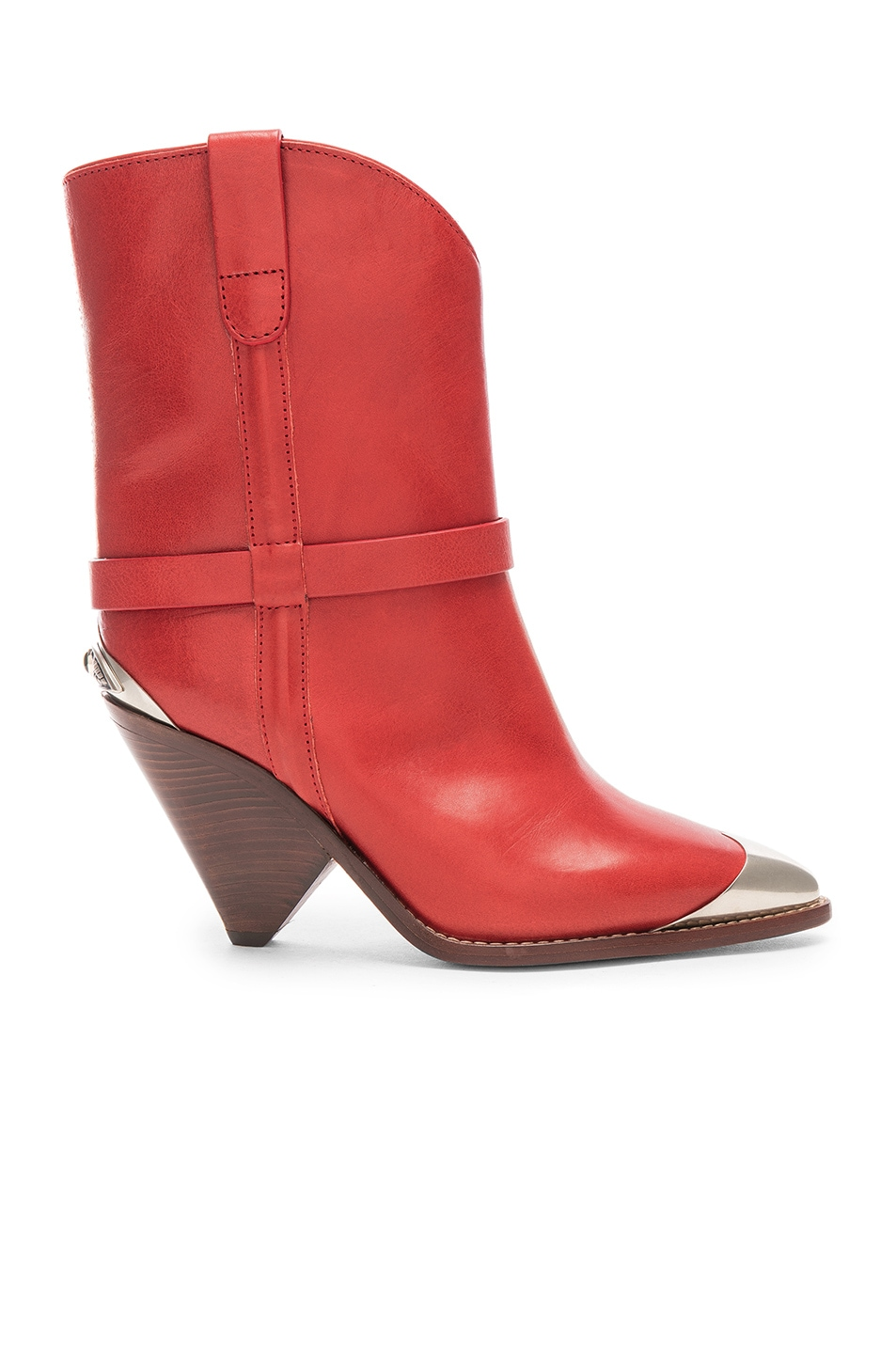 Image 1 of Isabel Marant Lamsy Boot in Red