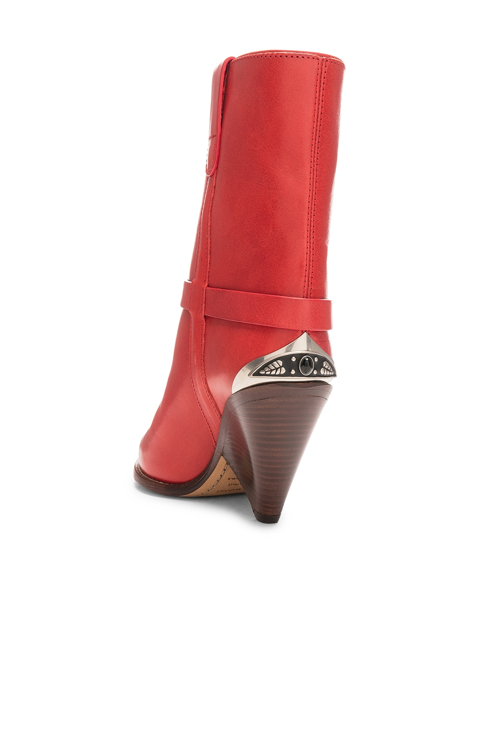 Image 3 of Isabel Marant Lamsy Boot in Red