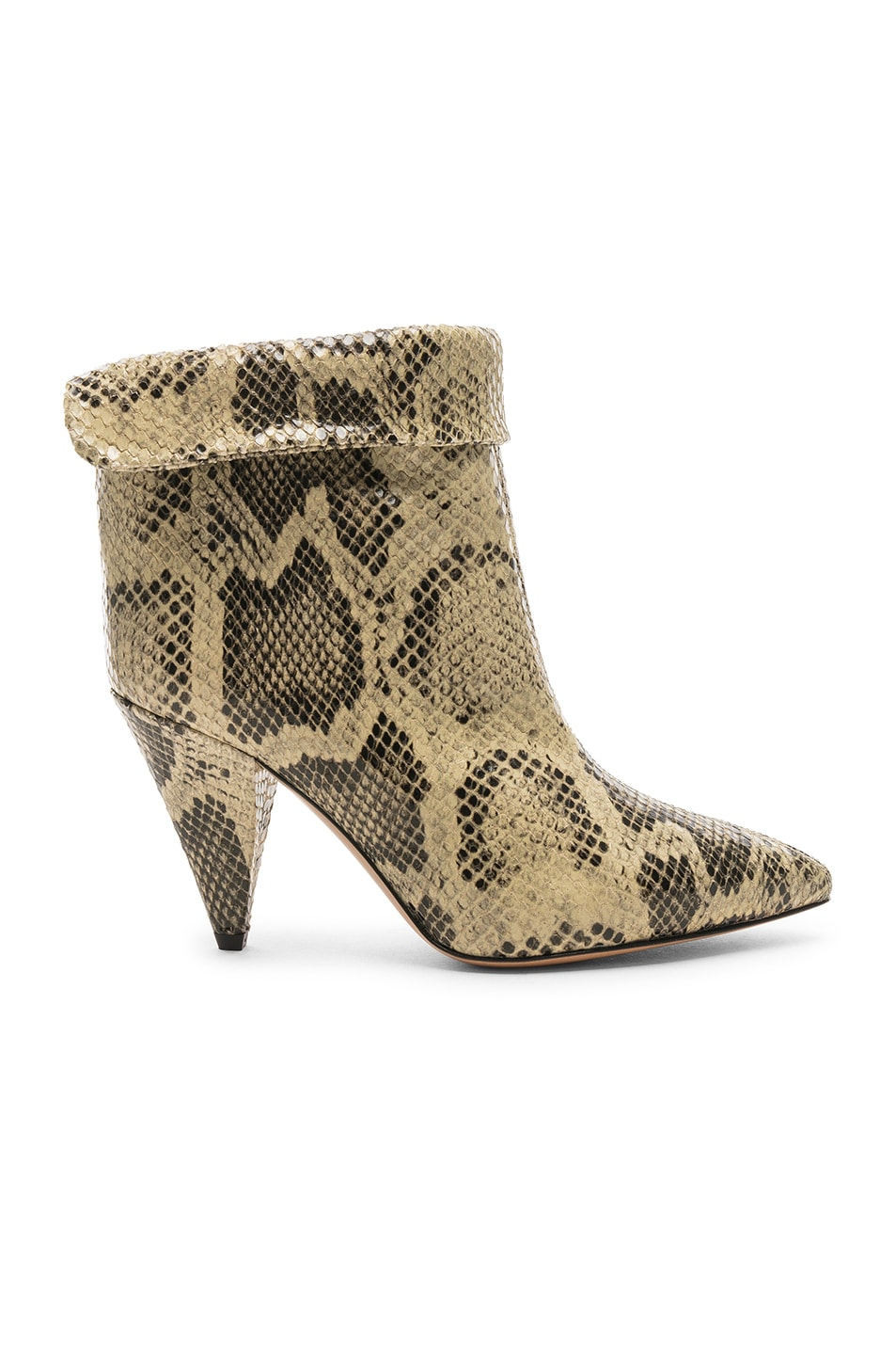Image 1 of Isabel Marant Lisbo Boot in Natural