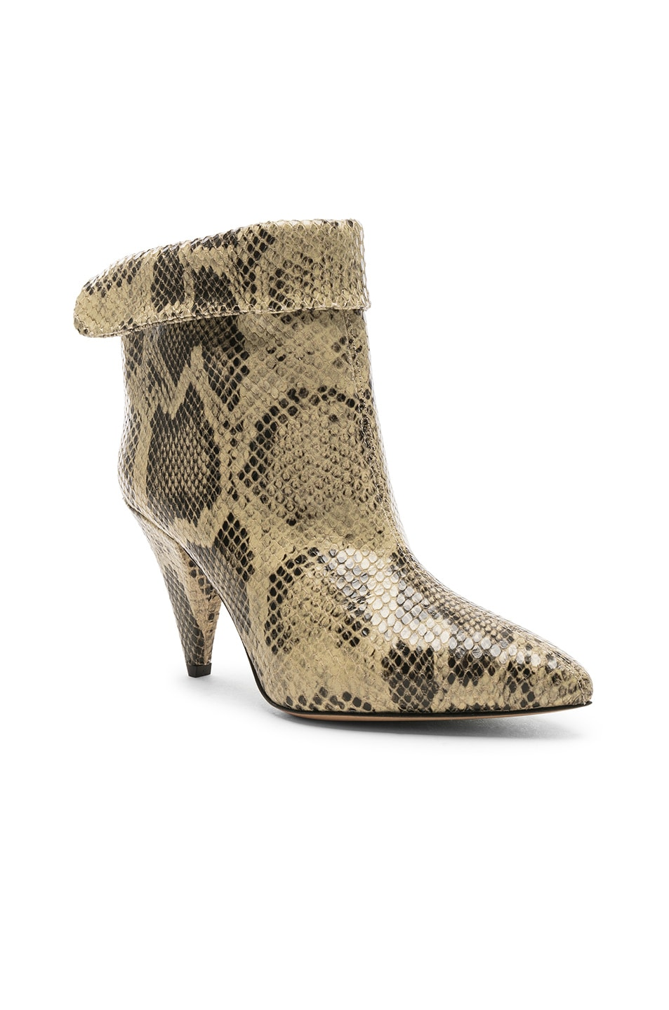 Image 2 of Isabel Marant Lisbo Boot in Natural