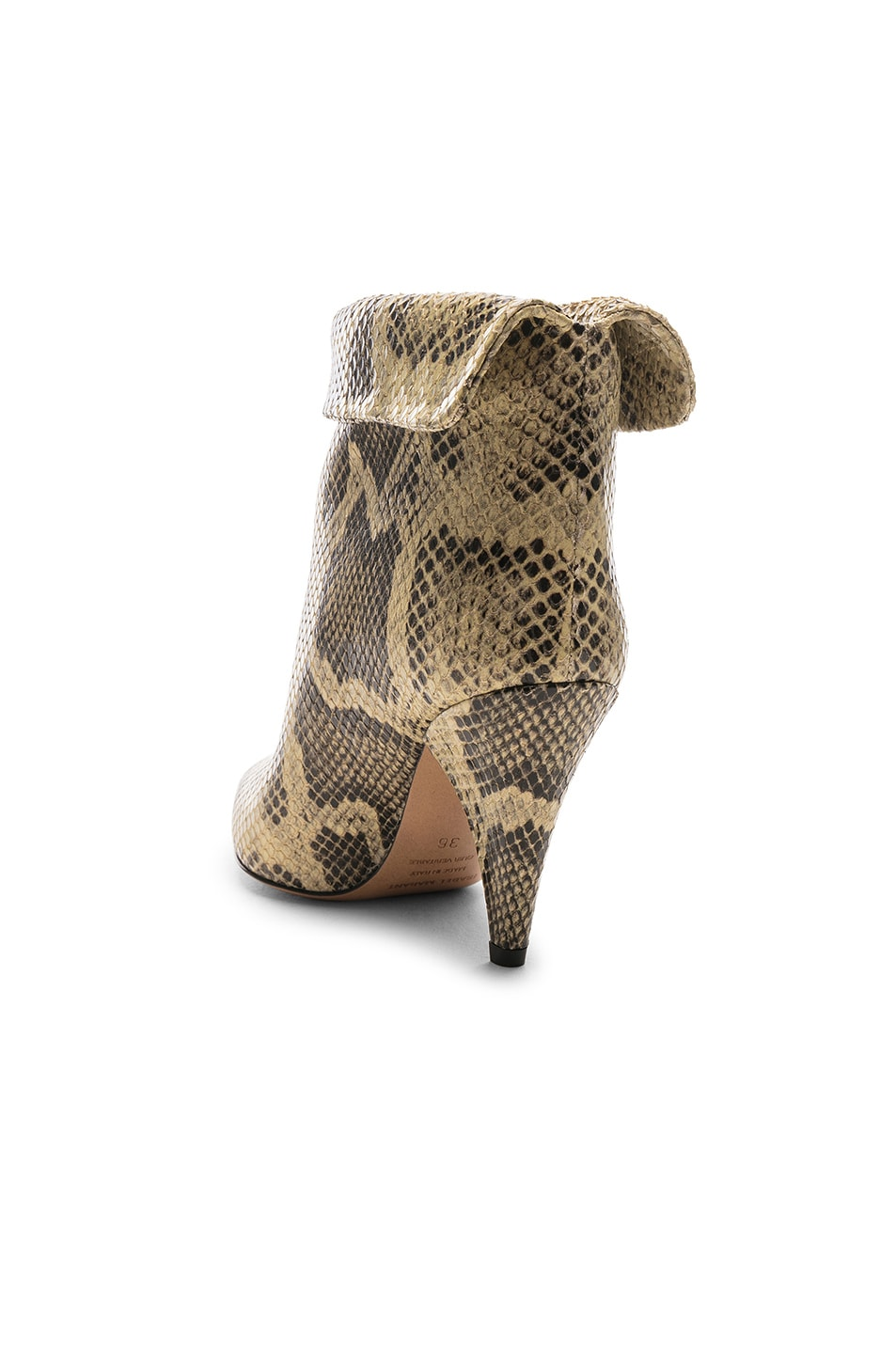 Image 3 of Isabel Marant Lisbo Boot in Natural