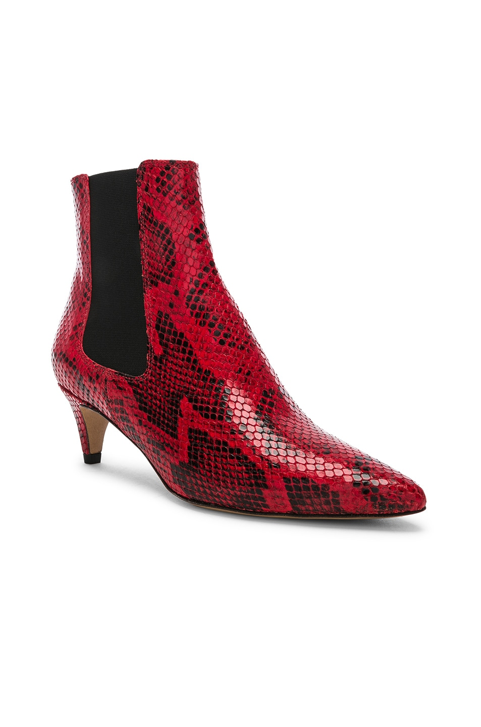 Image 2 of Isabel Marant Detty Booties in Red