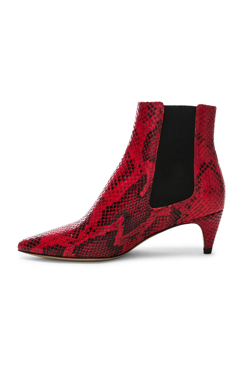 Image 5 of Isabel Marant Detty Booties in Red