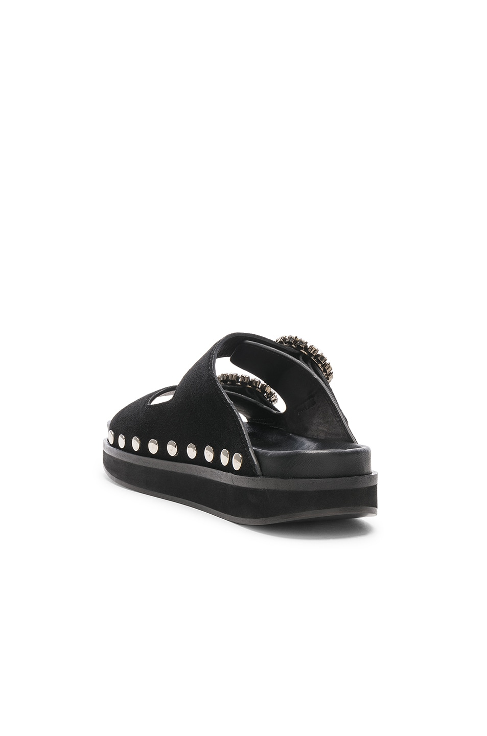 Image 3 of Isabel Marant Noddi Sandal in Black