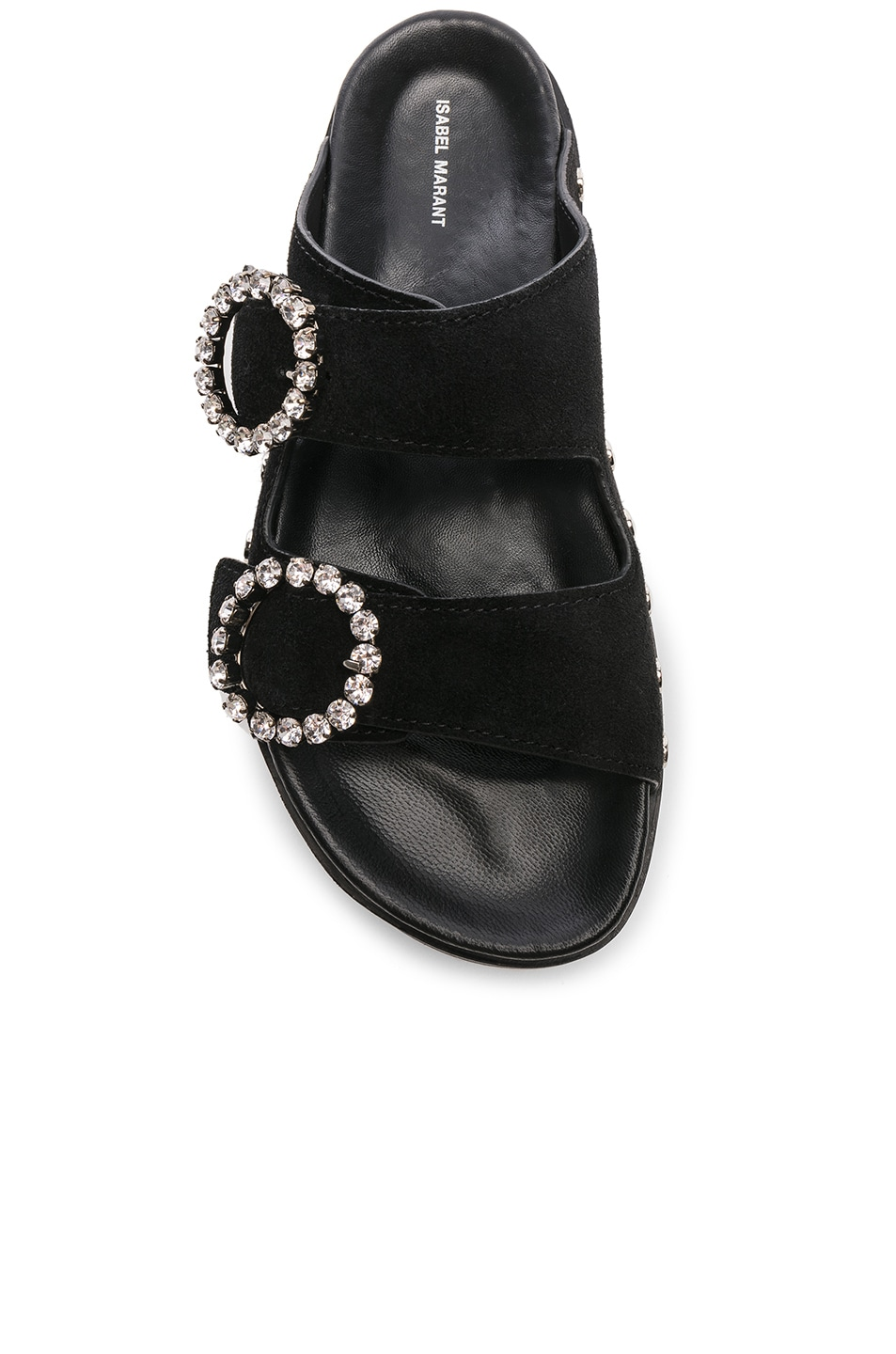 Image 4 of Isabel Marant Noddi Sandal in Black