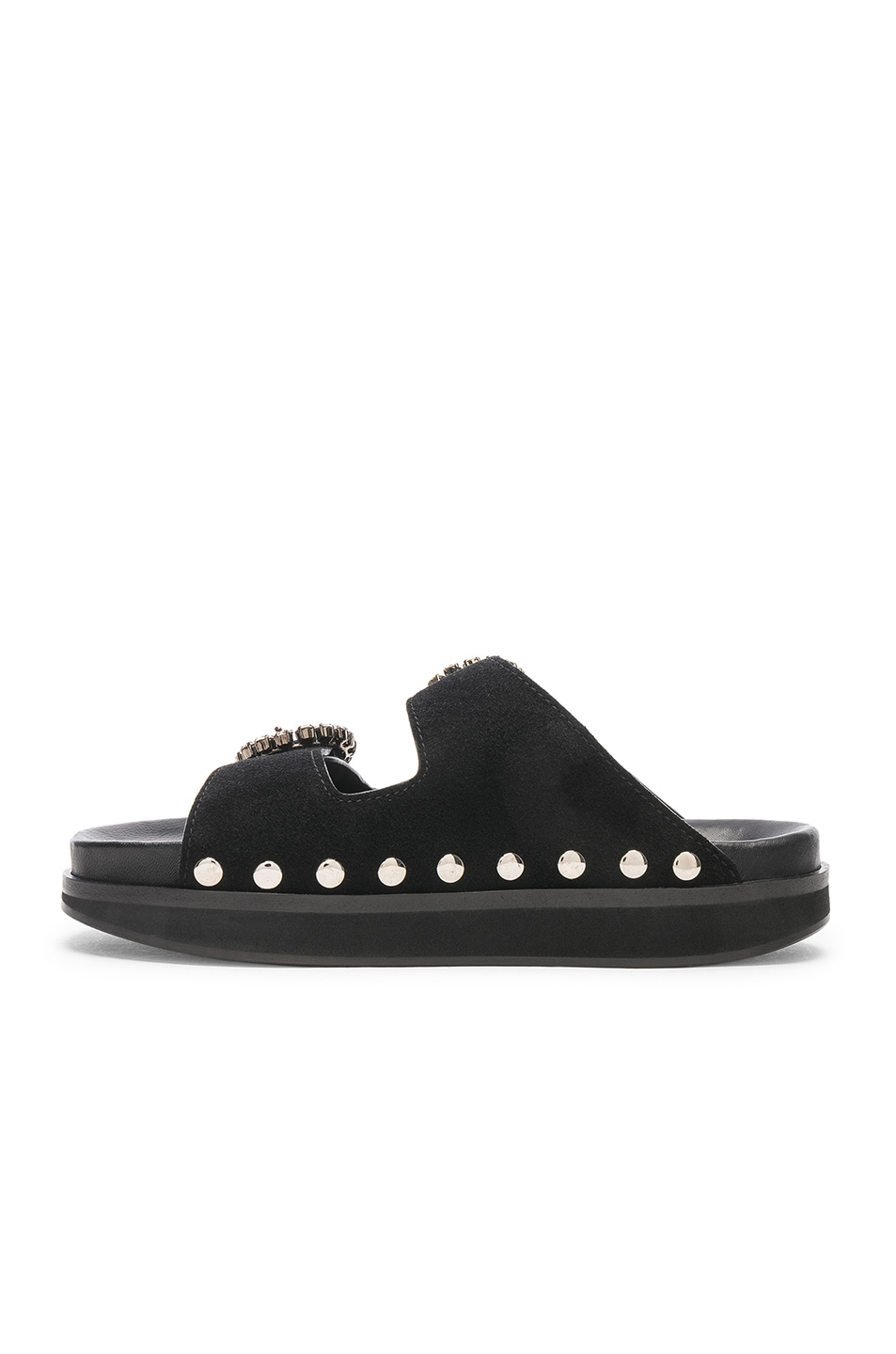Image 5 of Isabel Marant Noddi Sandal in Black