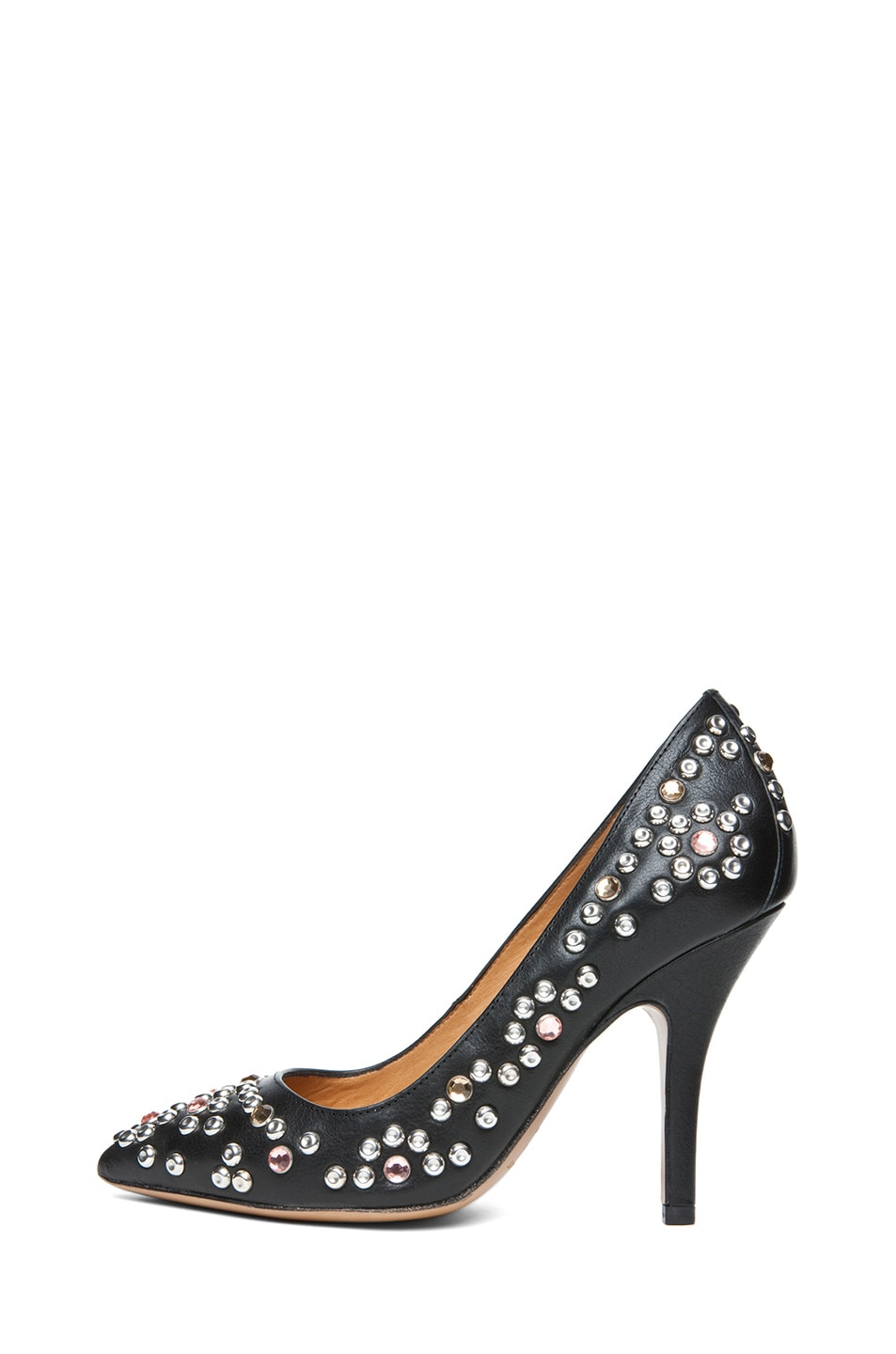 Image 1 of Isabel Marant Clemence Studded Heel in Black
