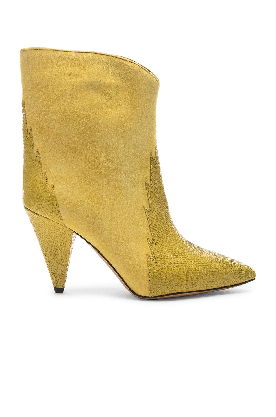 Image 1 of Isabel Marant Leider Boot in Yellow