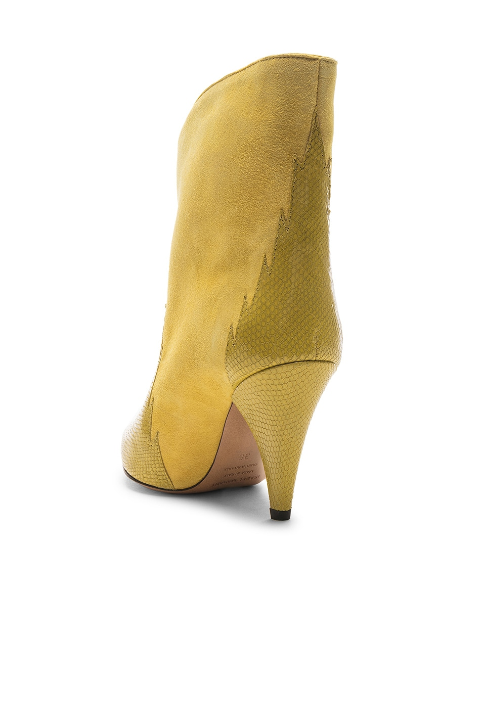 Image 3 of Isabel Marant Leider Boot in Yellow