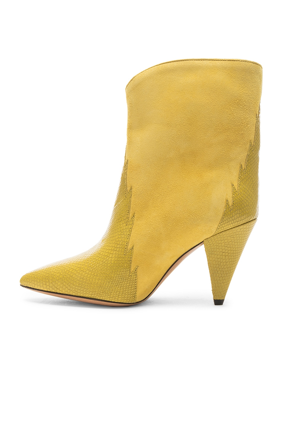 Image 5 of Isabel Marant Leider Boot in Yellow