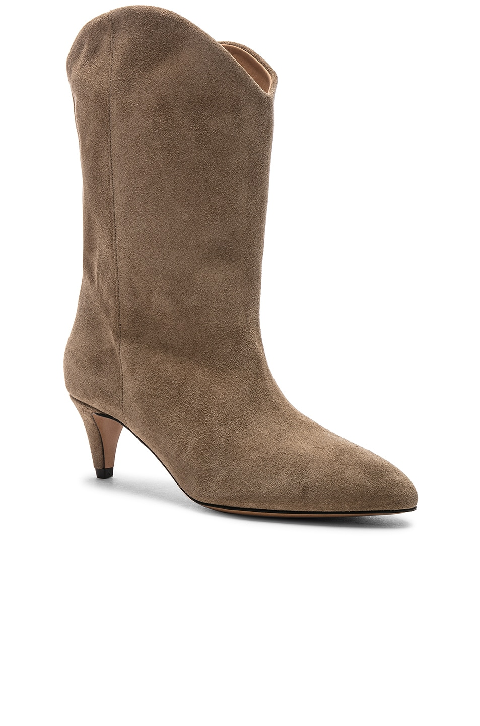 Image 2 of Isabel Marant Dernee Boot in Taupe
