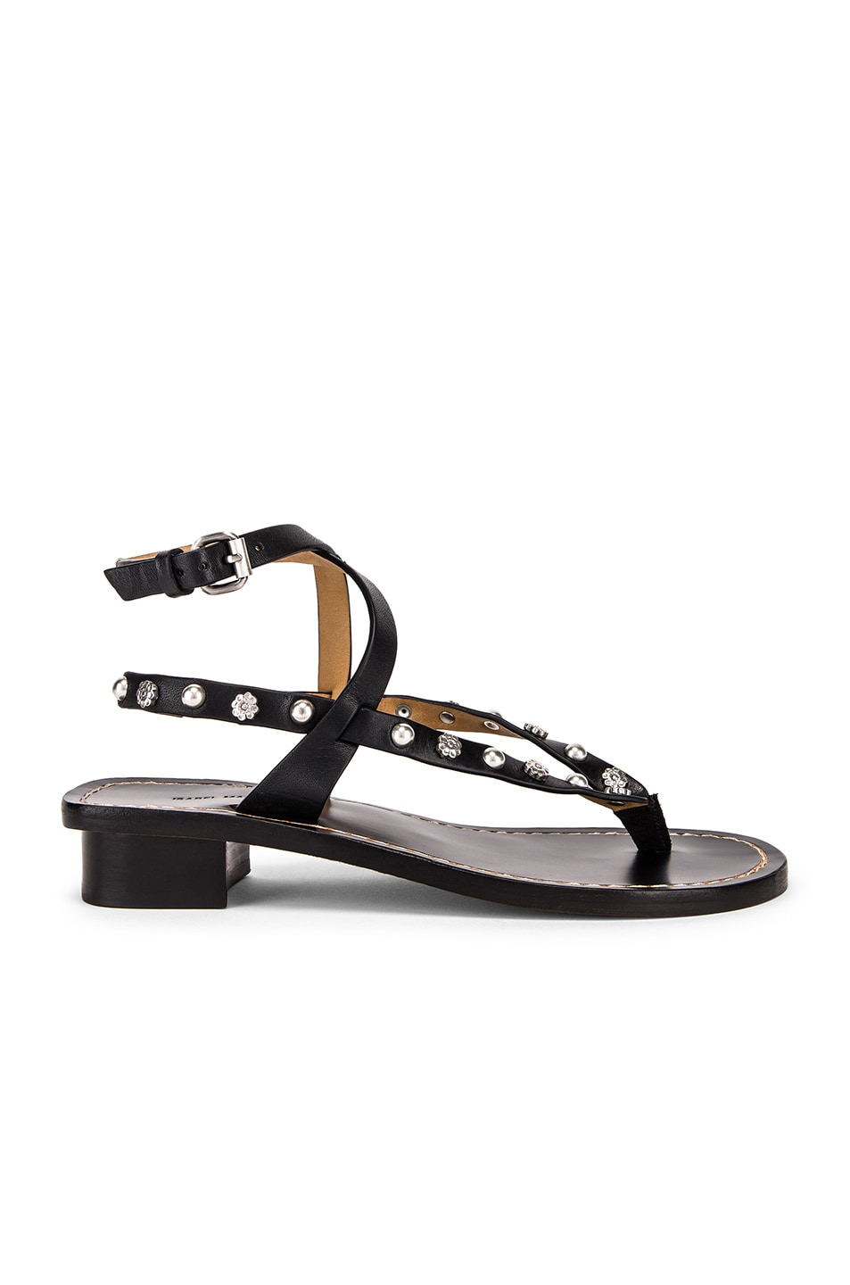 Image 1 of Isabel Marant Jings Sandal in Black