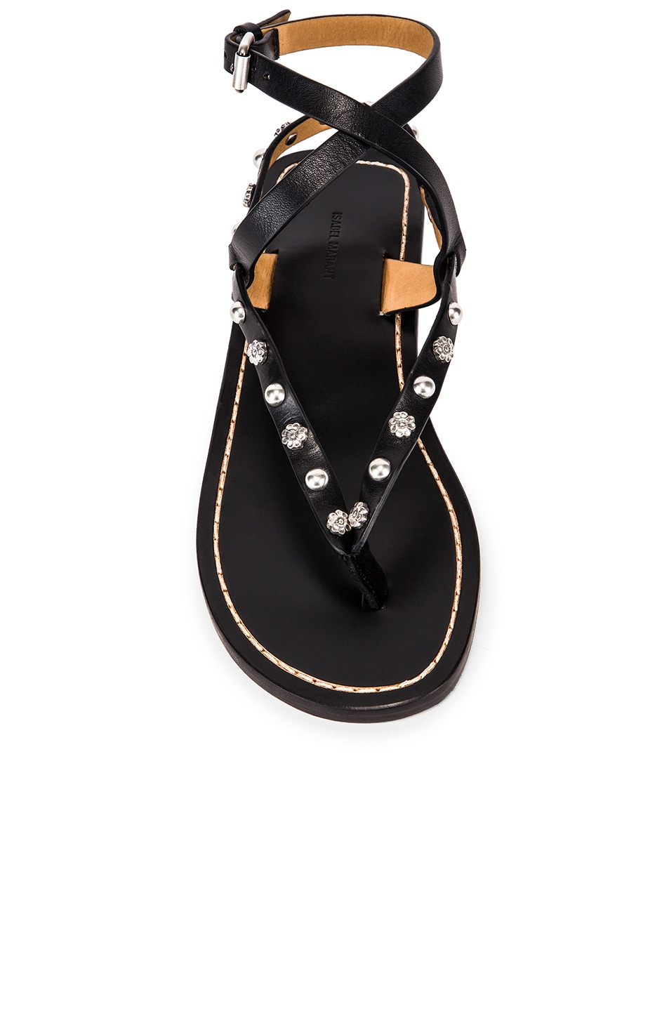 Image 4 of Isabel Marant Jings Sandal in Black