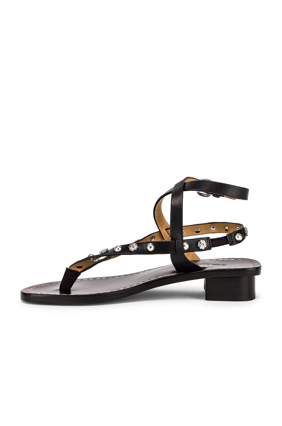 Image 5 of Isabel Marant Jings Sandal in Black