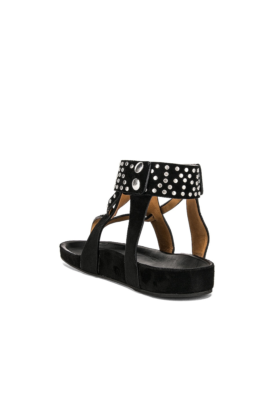 Image 3 of Isabel Marant Ellan Sandal in Black