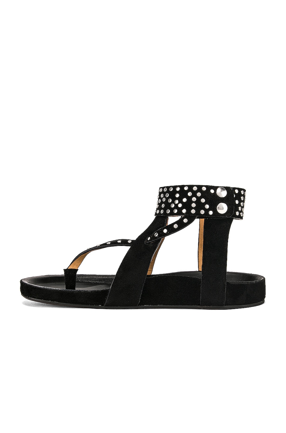 Image 5 of Isabel Marant Ellan Sandal in Black