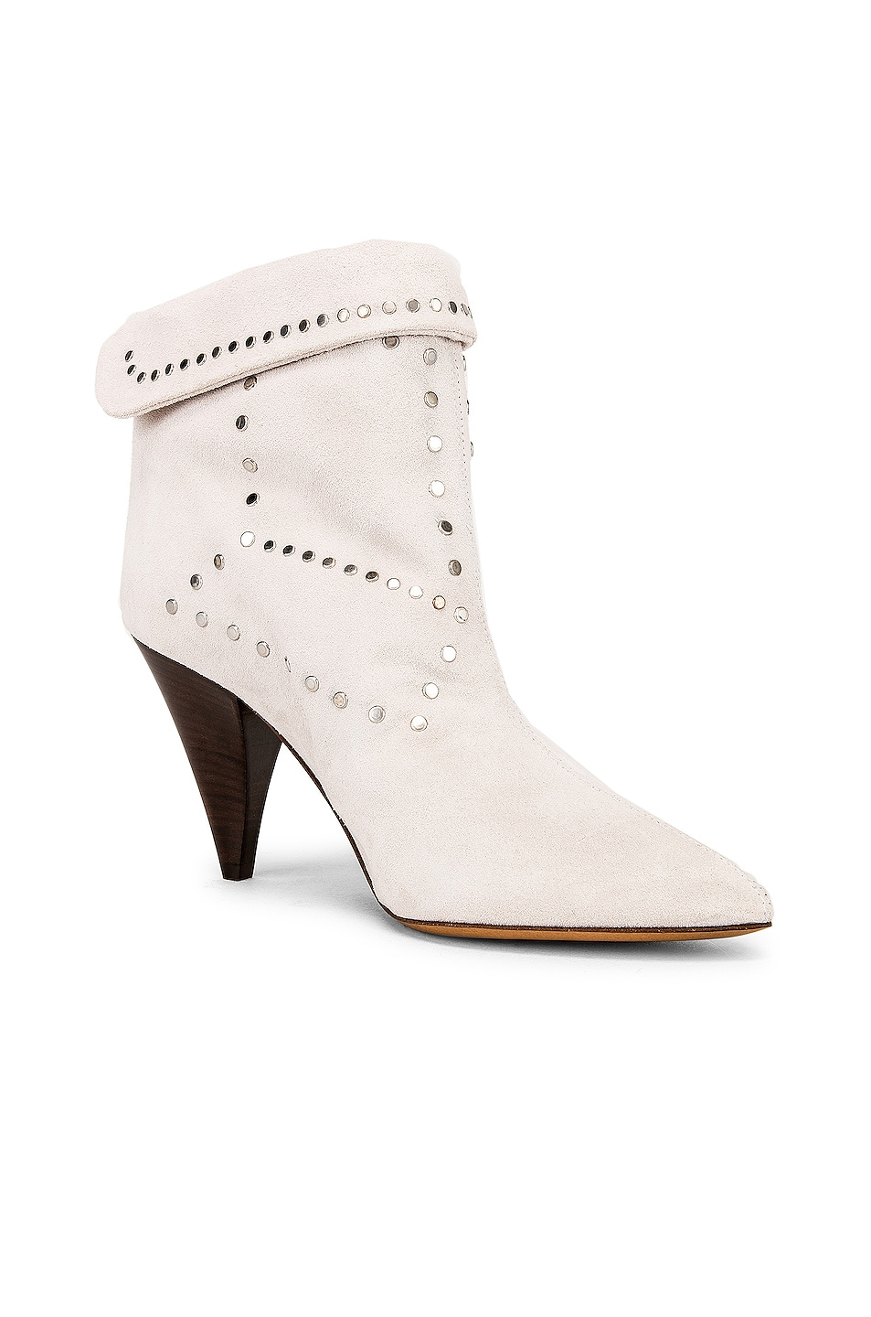 Image 2 of Isabel Marant Lisbo Boot in White