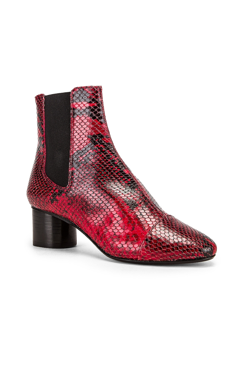Image 2 of Isabel Marant Danae Boot in Red