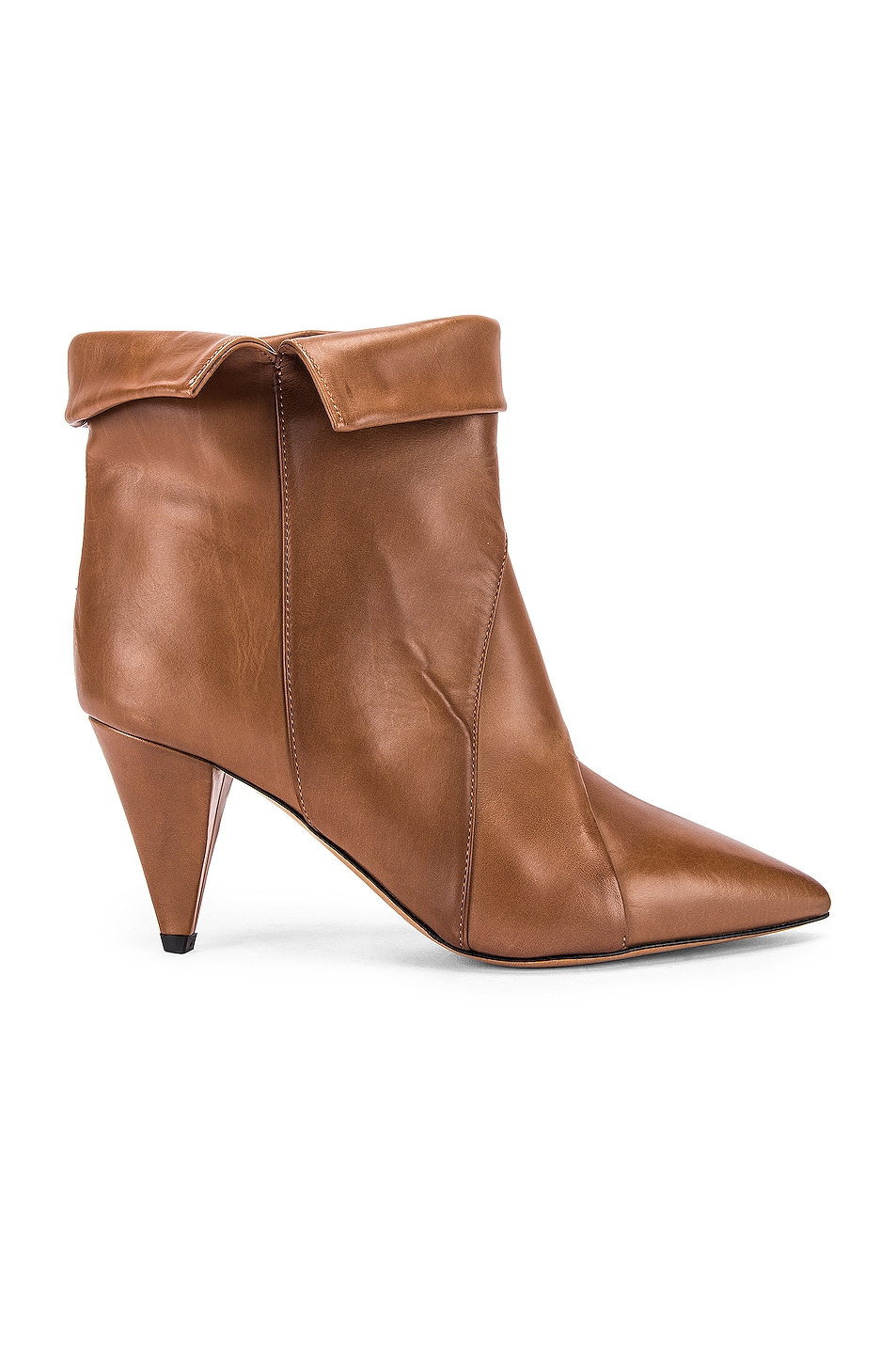 Image 1 of Isabel Marant Larel Leather Boot in Natural