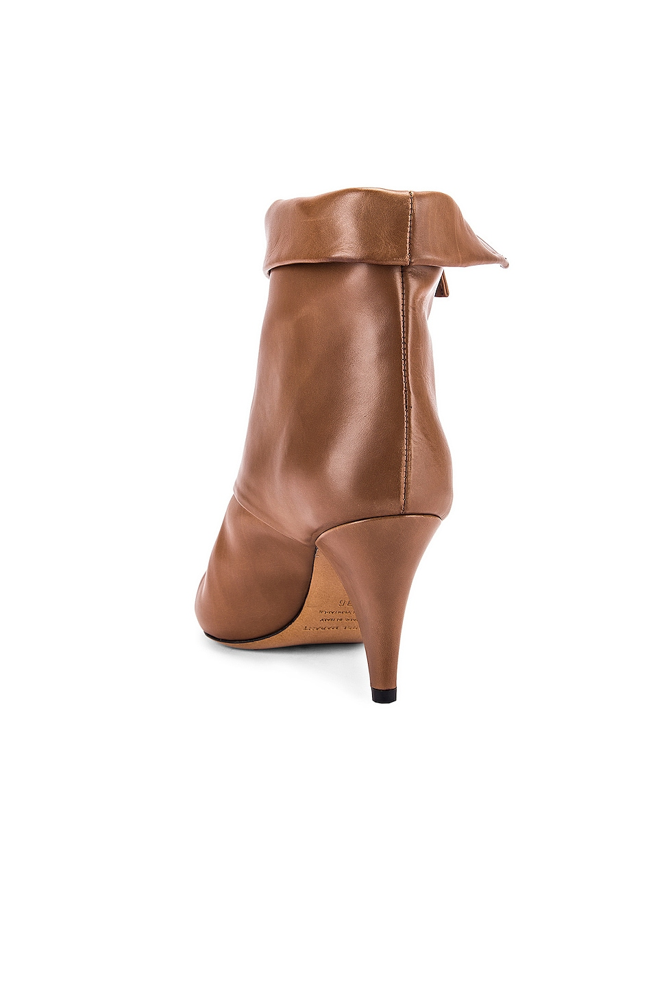 Image 3 of Isabel Marant Larel Leather Boot in Natural