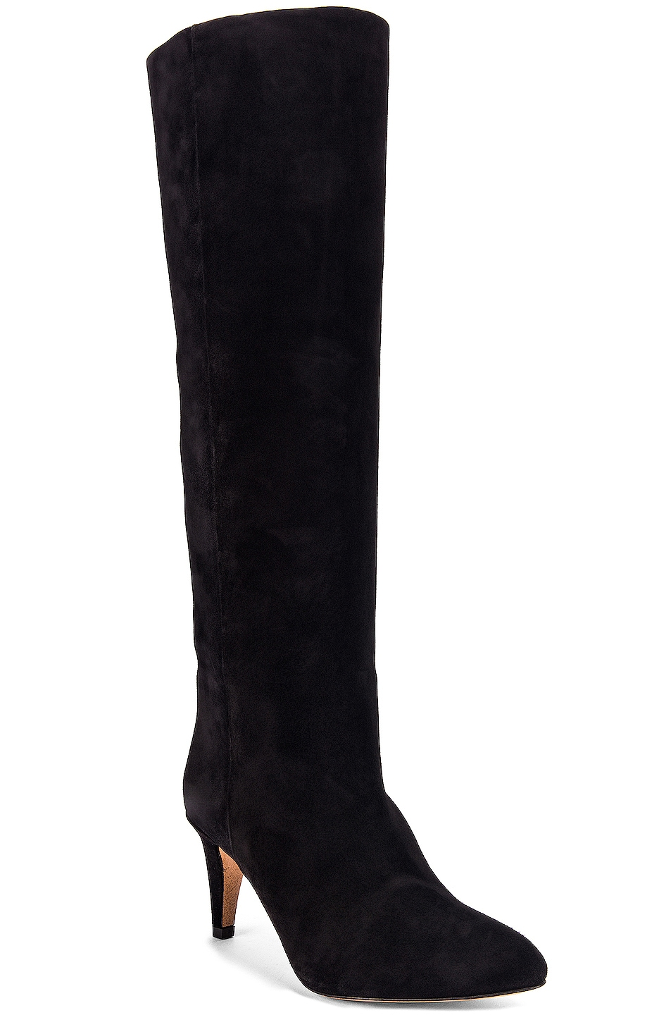 Image 2 of Isabel Marant Latsen Suede Boot in Black