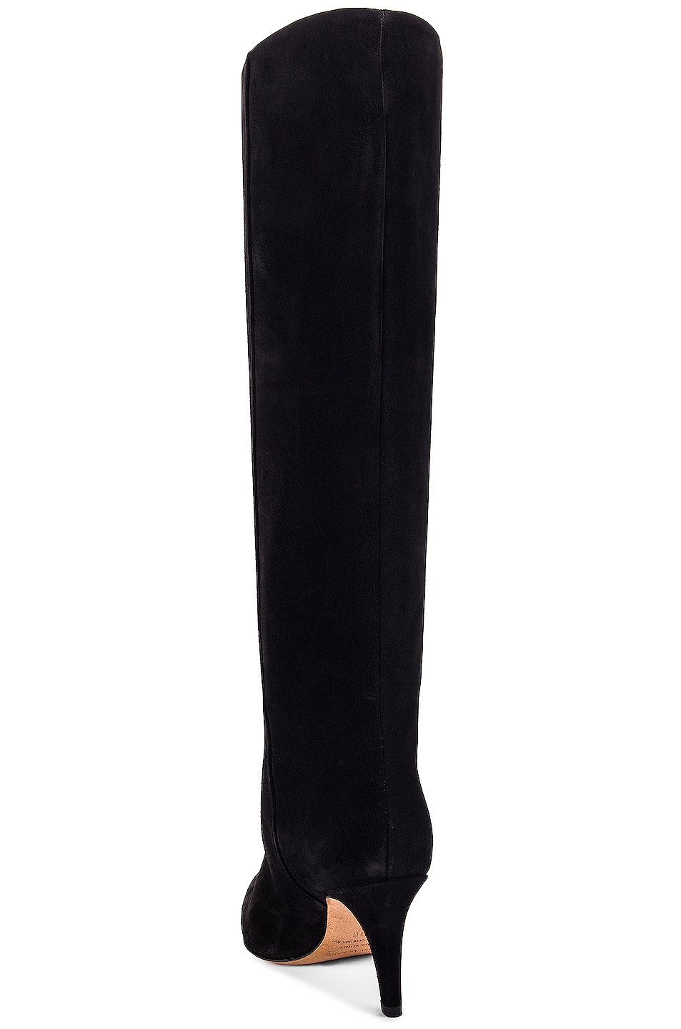 Image 3 of Isabel Marant Latsen Suede Boot in Black