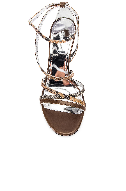 Image 4 of Isabel Marant Afka Sandal in Taupe & Camel