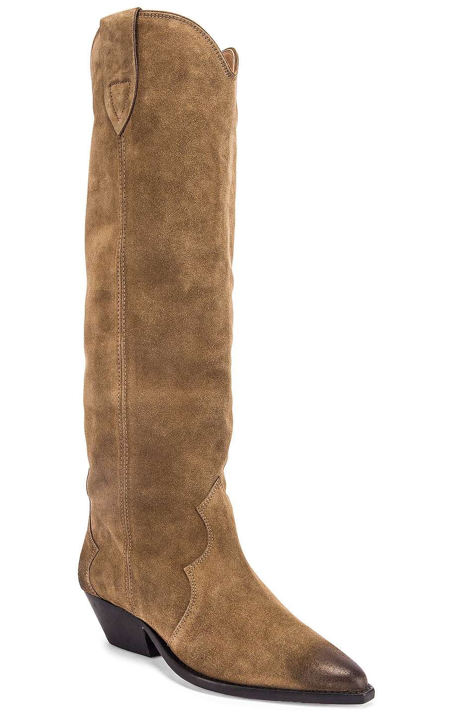 Image 2 of Isabel Marant Denvee Boot in Taupe