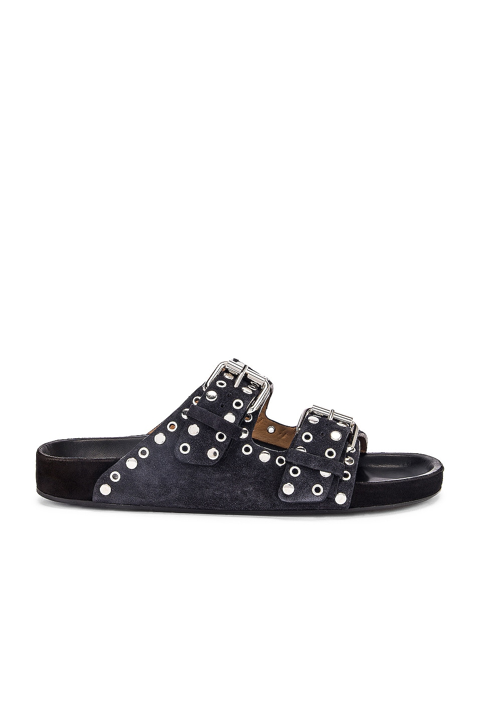 Image 1 of Isabel Marant Lennyo Sandal in Faded Black