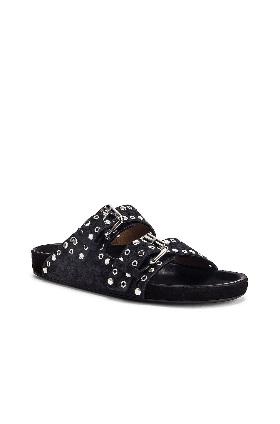 Image 2 of Isabel Marant Lennyo Sandal in Faded Black