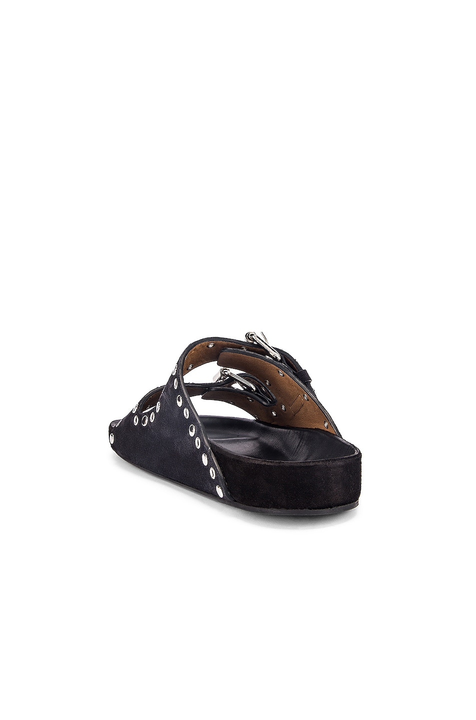 Image 3 of Isabel Marant Lennyo Sandal in Faded Black