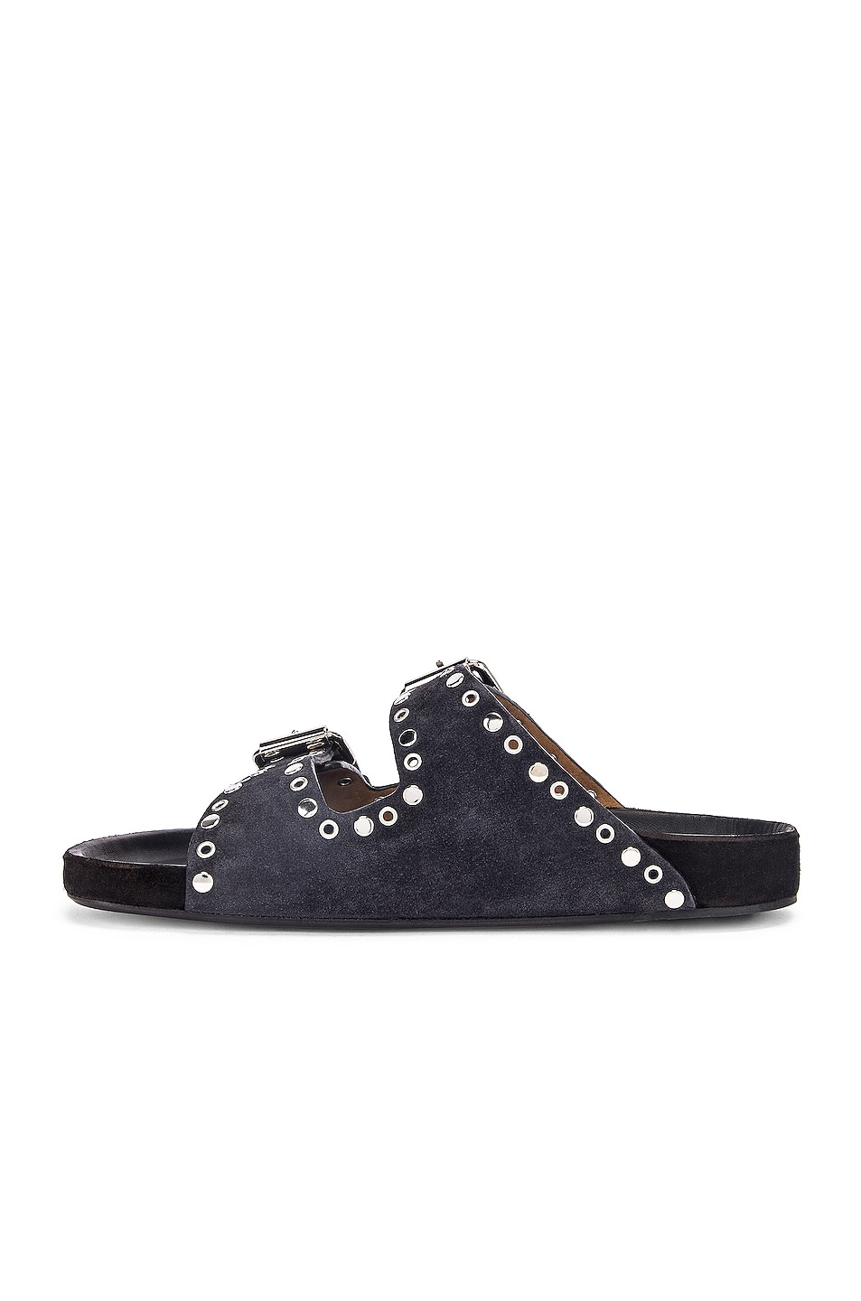 Image 5 of Isabel Marant Lennyo Sandal in Faded Black