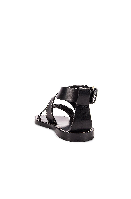 Image 3 of Isabel Marant Juzee Sandal in Black